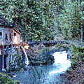 Griss Mill Watercolor by Larry Keahey