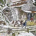 Grist Mill, 19th Century by Granger