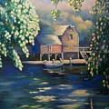 Grist Mill 2 by Marlene Book
