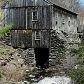 Grist Mill At Moore State Park by Bill Dussault