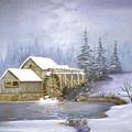 Grist Mill by Jerry Walker