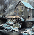 Grist Mill by Mike Worthen