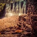 Grist Mill Water Fall by Honey Bunch Lyn Photographs