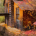 Grist Mill by Wendy Elliott