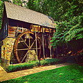 Gristmill - Charlottesville Virginia by Judy Palkimas