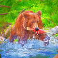Grizzly Delights by Allen Lawrence