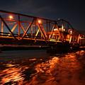 Grosse Ile Bridge  by Dawn Stone