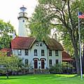 Grosse Point Light Station by Jack Schultz