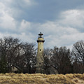 Grosse Point Lighthouse Portrait by Kyle Hanson