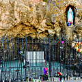 Grotto At San Xavier Mission - Tucson Arizona by Jon Berghoff