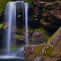 Grotto Falls by Dennis Nelson