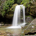 Grotto Falls Great Smoky Mountains by Jemmy Archer