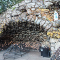 Grotto Of Our Lady Of Lourdes 2 by John McGraw