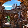 Grotto Of Redemption In Iowa by Susanne Van Hulst