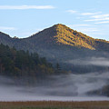 Ground Fog In Cataloochee Valley - October 12 2016 by D K Wall