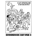 Ground Hog Day by Frederick Holiday
