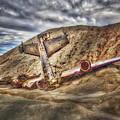 Grounded Plane Wreck by Susan Candelario
