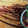 Group Hug - Bicycle Art by Linda Apple