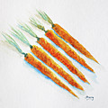Group Of Carrots by Tina Storey