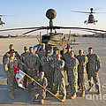 Group Photo Of U.s. Soldiers At Cob by Terry Moore