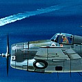 Grumman F4rf-3 Wildcat by Wilf Hardy