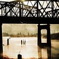 Grunge River by Julie Craig