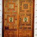 Guadalajara Door 1 by Randall Weidner