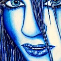 Guess U Like Me In Blue by Joseph Lawrence Vasile