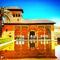 Guest House At The Alhambra by Alex Favela