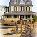 Guesthouse At The Beach by Carolyn Derstine