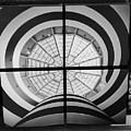 Guggenheim In Quarters B W by Rob Hans