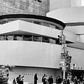 Guggenheim Museum Nyc Bw by Chuck Kuhn