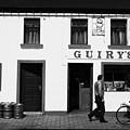 Guirys Irish Pub Foxford County Mayo Ireland by Joe Fox