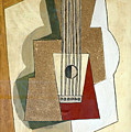 Guitar, By Pablo Picasso, 1919, Kroller-muller Museum, Hoge Velu by Peter Barritt