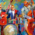 Guitar Drums And Bass by Debra Hurd