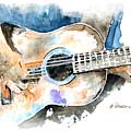 Guitar Riffs... by Arline Wagner