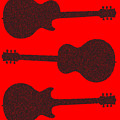 Guitar Silhouette Background by Bigalbaloo Stock