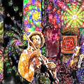 Guitar Watercolor by Lyriel Lyra