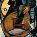 Guitarist by Valerie Vescovi