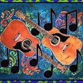 Guitars - Bordered by Sue Duda