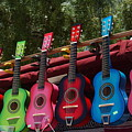 Guitars In Old Town San Diego by Anna Lisa Yoder