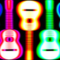 Guitars On Fire 3 by Andy Smy
