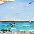 Gulf Beach Pathway by Riley Geddings