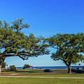 Gulf Coast Lighthouse Seascape Biloxi Ms 3663b by Ricardos Creations