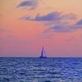 Gulf Coast Sailboat by Bill Cannon