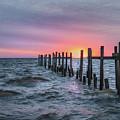 Gulf Coast Sunrise by James Woody