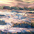 Gulf Island Sunset by Ted Hesketh