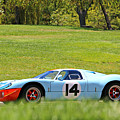 Gulf Mirage Ford Gt40 by Steve Natale