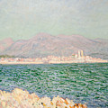 Gulf Of Antibes by Claude Monet