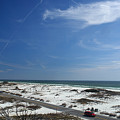 Gulf Of Mexico At Pensacola Beach by George Taylor